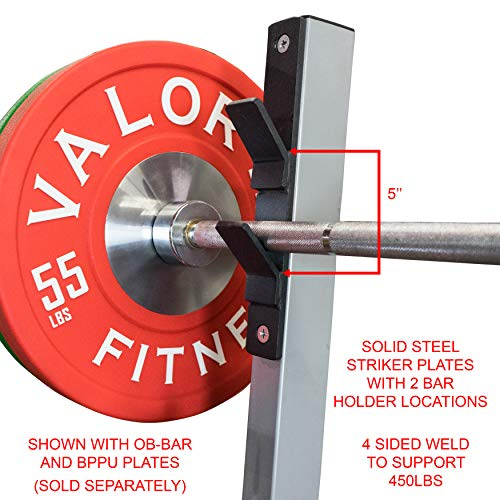 Valor Fitness BF-7 Olympic Bench with Spotter Stand