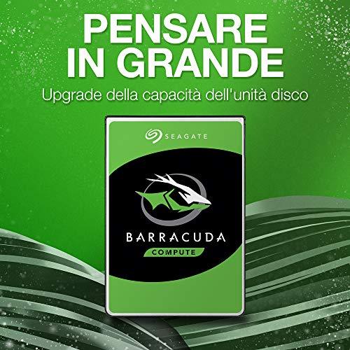 Seagate BarraCuda, Unità Disco Interna da 8 TB, Unità SATA da 6 Gbit/s, 3,5