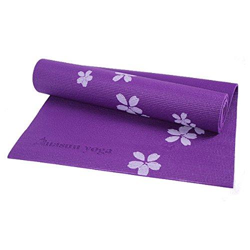 Bluelover 6Mm PVC bedrukt yogamat non-slip verdikking schuim fitness oefenmat voor beginners