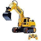 Auto per bambini RC,SYXX Ragazzo fili elettrici automobile del giocattolo dei bambini, a distanza escavatore di controllo, i bambini Vehicle Engineering Escavatore in lega di ricarica auto, simulazion