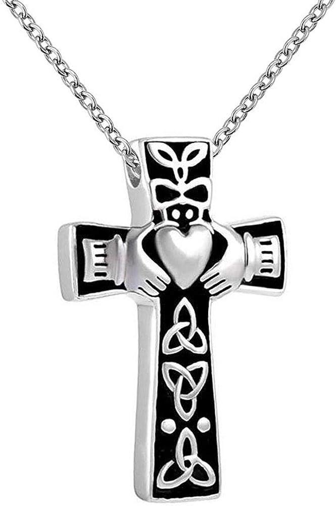 Casa De Novia Jewelry Urn Necklace for Elegant Knot Claddag OFFicial store Celtic Ashes