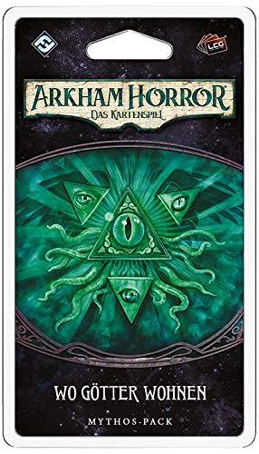 FFG Asmodee FFGD1143 Arkham Horror: LCG - Wo Götter wohnen Mythos-Pack (Traumfresser-5), deutsch