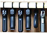 Safety Storage - Safety Solutions for Gun Storage Pack of 6 Original Pistol Handgun Hangers (Hand Made in USA) (6 Hangers)