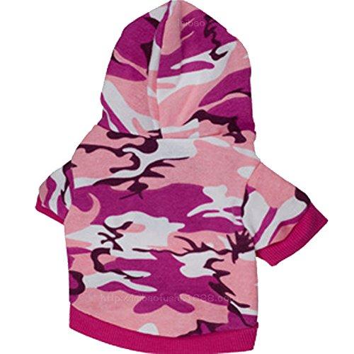 Tenchif Hund Katze Camouflage Mantel Kleidung Hoodie Kostüme