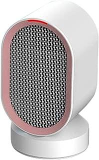 Fan-Ling 1pcs Mini Household Electric Heater,Desktop Mini Silent Portable Adjustment Rotatable Air Heater Fan,Safe Warm Home Office Tool,Efficient Heat Dissipation (White)