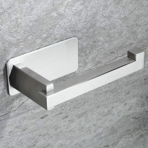 RUICER Toilettenpapierhalter - Klopapierhalter Ohne Bohren WC Rollenhalter Edelstahl Klorollenhalter Selbstklebend für Bad