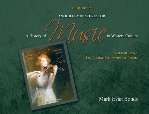 Anthology of Scores for a History of Music in Western Culture: The Classical Era Through the Present