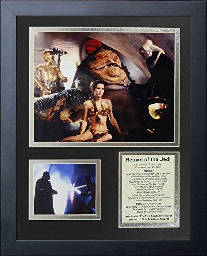 Legends Never Die Star Wars: O Retorno dos Jedi Action Colagem de fotos emoldurada, 28 por 35 cm
