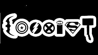 Keen Coexist Avengers Vinyl Decal Sticker Car Truck Van Wall Laptop White 6.5 in KCD674
