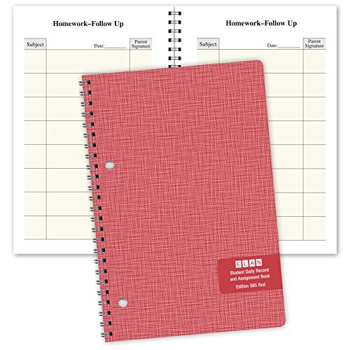 Price comparison product image Student Planner Daily Format for Elementary School (S85-Red) 5.5 x 8.5