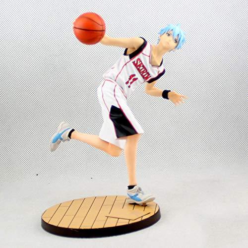 QIYHB 18CM Kurokos Basketball Anime Figur Wunder Generation · Der sechste Mann der Fantasie Kuroko Xiaozhe Kuroko Tetsuya Skulptur Dekoration Statue Figur Modell Spielzeugpuppe