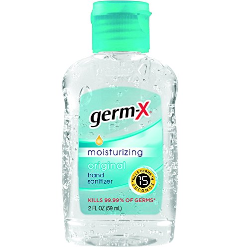 Germ-X Hand Sanitizer, Original, Travel Size, 2 Fluid Ounce
