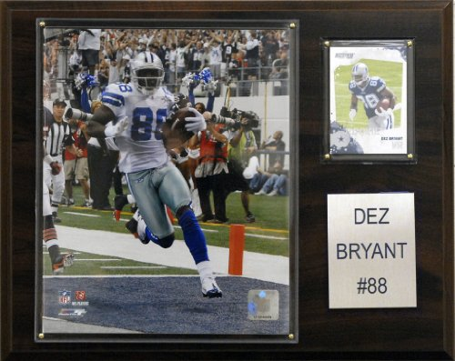 C & I Collectables NFL Dez-Bryant Dallas Cowboys Spieler Plaque