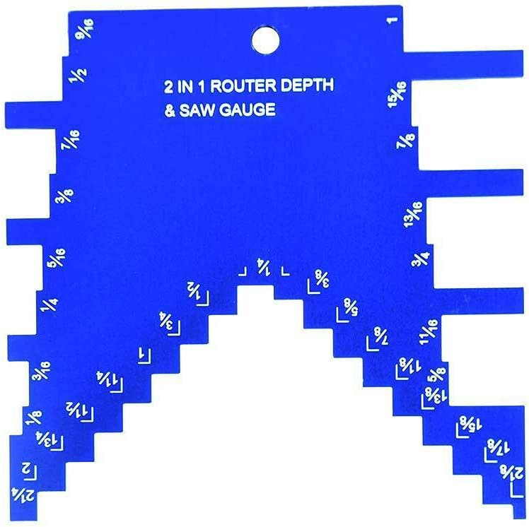 14611 2 Max 78% OFF in Popular 1 Step Depth for Table Saw Router and Gauge