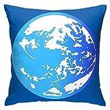 KINKA Mother Earthbound (Logo) Cushion Throw Pillow Cover Decorative Pillow Case For Sofa Bedroom Fundas para Almohada 26x26Inch(65cmx65cm)