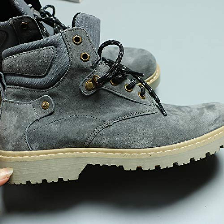 LOVDRAM Boots Men's Men'S High-Top Casual Wear Martin Boots Desert shoes