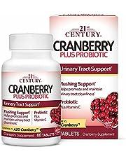 21st Century, Cranberry Plus Probiotic, 60 Tablets