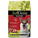 AvoDerm Natural Grain Free Beef & Vegetables Recipe All Life Stages Dry Dog Food 24 lb