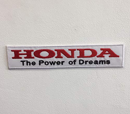 Parche bordado para coser o planchar de Honda The Power of Dreams
