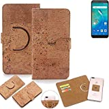 K-S-Trade 360° Cover cork Case for General Mobile GM 8 Go