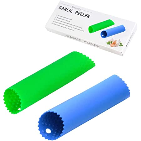 Silicone Garlic Cloves Peeler Skin Remover Press Roller sell Tool Kitchen I1S1