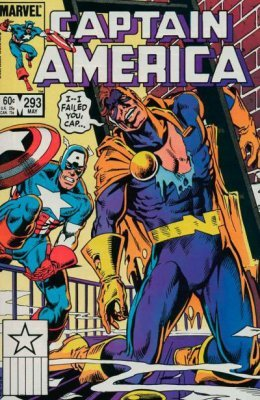 """Download Captain America Issue 293 May 1984 """"Field of Vision"""" B00CH72EIA"""