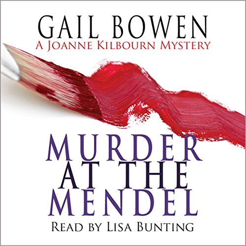 Murder at the Mendel audiobook cover art