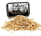 Whiskey Barrel Oak Wood Smoking Chips for Portable Smoker, Smoking Gun, Glass Cloche or Foghat Cocktail Smoker |Foghat Culinary Smoking Fuel | Infuse Bourbon, Cheese, Meats, BBQ, Salt, Butter, More!