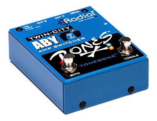 Radial Bones Twin City ABY Amp Switcher