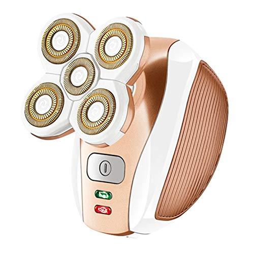 DYS@ Mujer removedor del Pelo para Las piernas axila Cuerpo sin Dolor señoras de máquina de Afeitar eléctrica de Afeitar del Condensador de Ajuste inalámbrico
