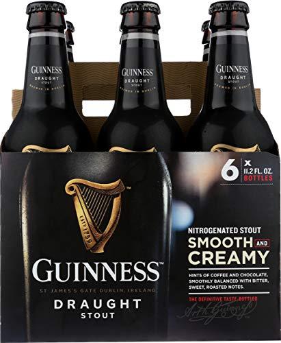 Guinness Draught, 6 pk, 11.2 oz bottles, 4.2% ABV