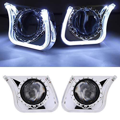 LED-Birnen-Xenon-Weiß G142 H1 3,0-Zoll-12V 35W 6000K Bi-Xenon Projektor-Objektiv for Recht Fahren XY r für Nebelscheinwerfer Tagfahrlicht Automotive D