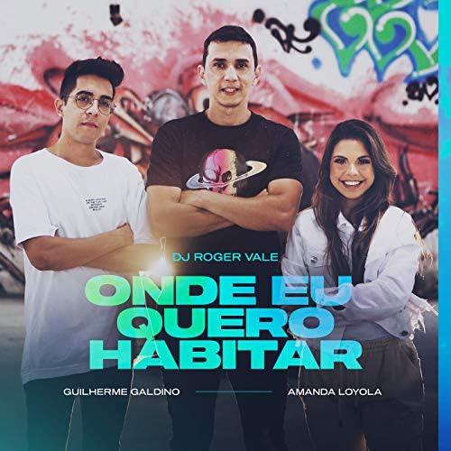 DJ Roger Vale, Amanda Loyola & Guilherme Galdino