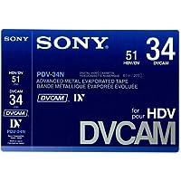 SONY/ソニー DVCAM テープ 34分 メモリーなし 10本セット[PDV-34N]国内正規品!
