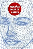 MIGRAÑAS - DOLOR DE CABEZA: CUADERNO DE SEGUIMIENTO | Registro Diario Detallado : Fecha, Duración, Intensidad, Causas, Medicación...