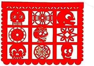 10 Día de Los Muertos Papel Picados Paper 14 Feet Long Lasercut and Very Detailed—See Photos