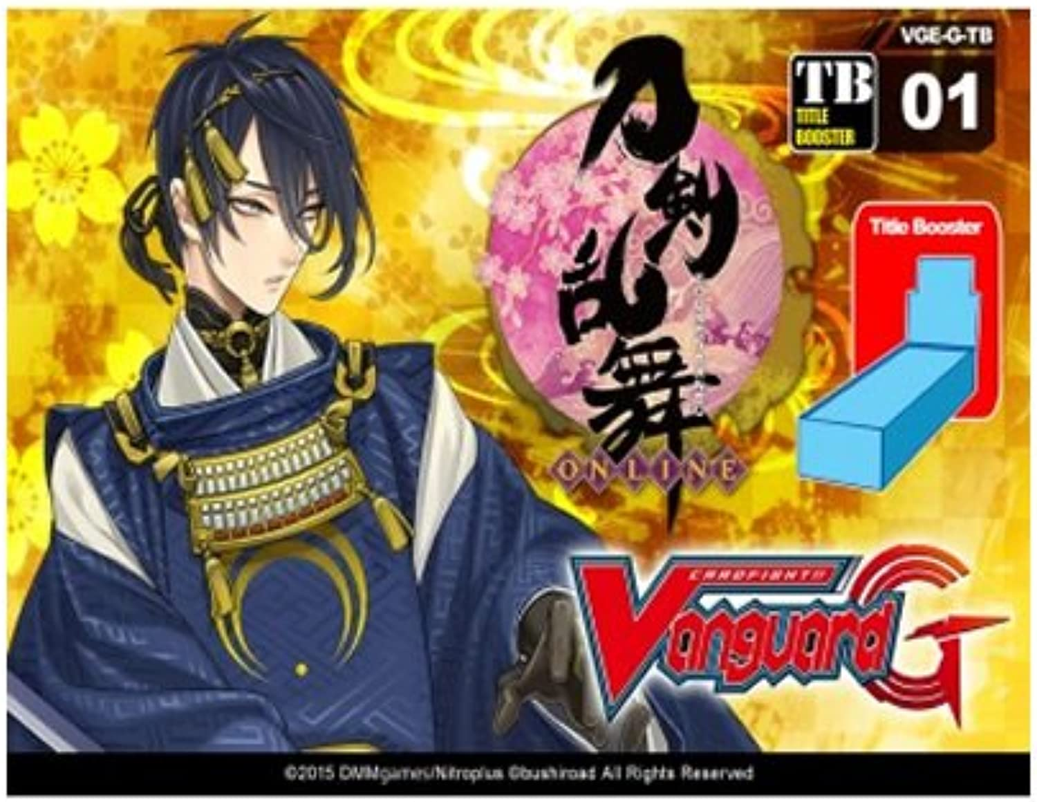 Cardfight Vanguard Clan Booster Touken Ranbu VGE-G-TB01