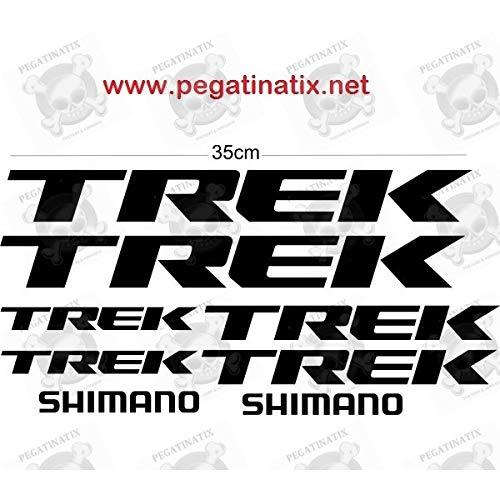 MTB Shimano Trek Stickers Decals AUFKLEBER Pegatinas AUTOCOLLANT Full Color