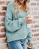 Zoom IMG-2 yidarton maglione da donna oversize