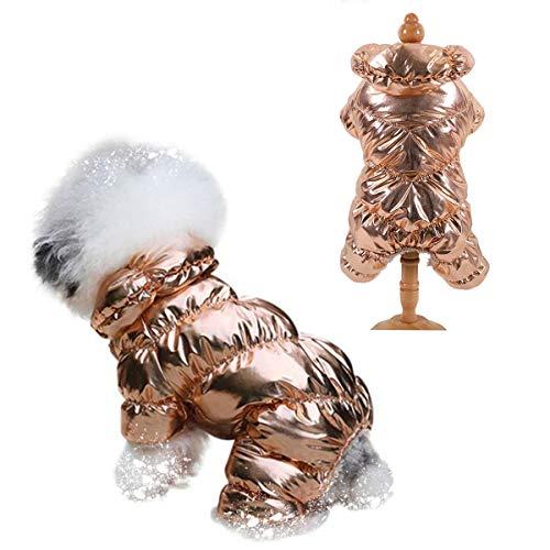 SunteeLong Winter Puppy Dog Coat Waterproof Pet Clothes Windproof Dog Snowsuit Warm...