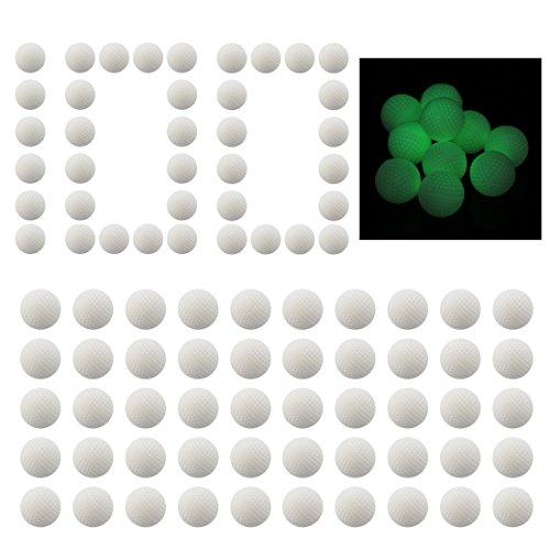 BOROK 100St. Runde Refill Nachfüllung Darts Leuchtpfeile Bälle für Nerf Rival