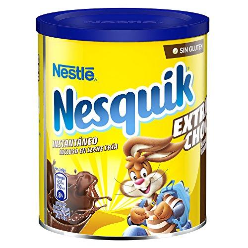 Nestlé Nesquik cacao soluble instantáneo Extra Choc, pack de 6 x 390g