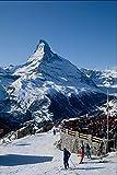 728087 Matterhorn Zermatt Switzerland A4 Photo Poster Print