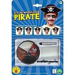 Ofertas Tienda de maquillaje: Paleta de maquillaje para los niños sobre el tema de los piratas Incluye 4fards y 1pincel para maquillaje bien. Desde 3años