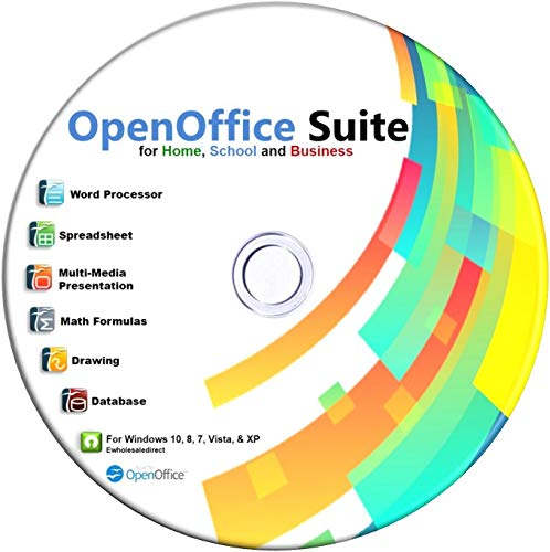 Office Suite 2019 for Home Student and Business, Compatible with Microsoft Office Word Excel PowerPoint for Windows 10 8 7 powered by Apache
