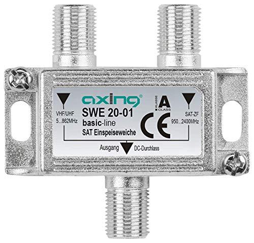Axing SWE 20-01 Coupleur d'antennes satellite et terreste / TNT