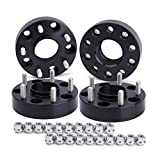 Wheel Spacers for Je/ep JK XK WJ WK, Dynofit (set of 4) 5x5 to 5x5(5x127) 71.5mm 1/2-20 1.5' Forged HubCentric Wheels Spacer for Wrangle JKU Sahara Rubicon Sport, Grand Cherokee WJ WK, Commander XK