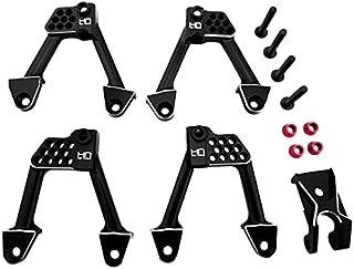 Hot Racing SCXT28301 Aluminum Front & Rear Adjustable Shock Towers - Scx 2