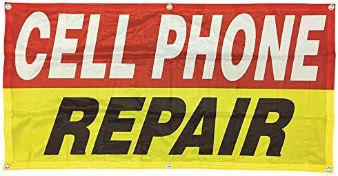 Cell phone repair sign