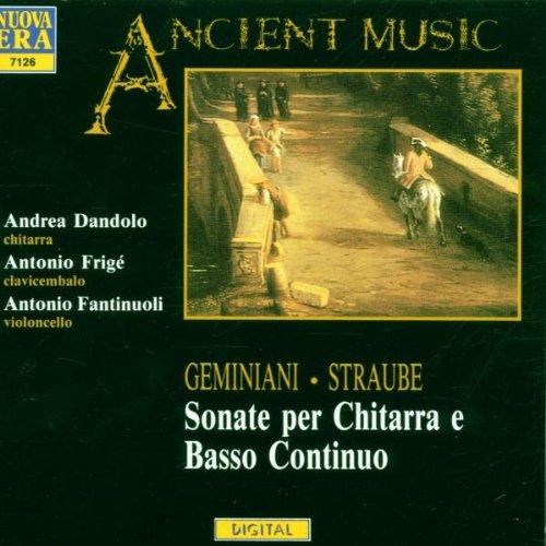 Sonaten Für Gitarre & B.C.
